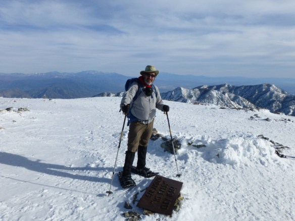 Kyle Kuns at Mt. Baldy (photo by Jim).