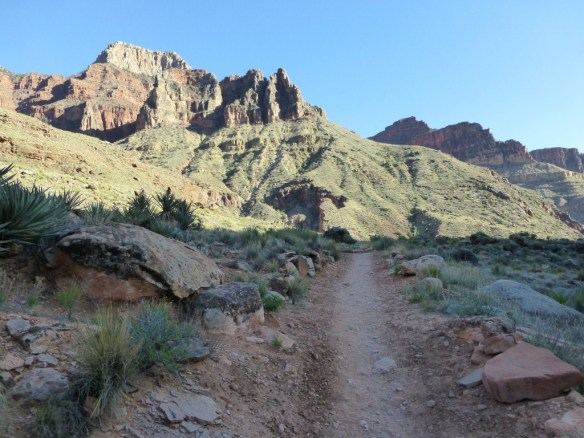 North Kaibab Trail from Bright Angel Campground to Cottonwood Campground