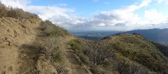 Rim of the Valley Trail (click to enlarge).