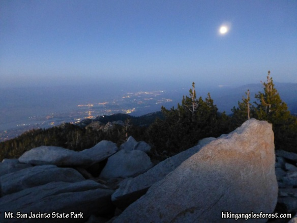 Early evening view from Mt. San Jacinto.