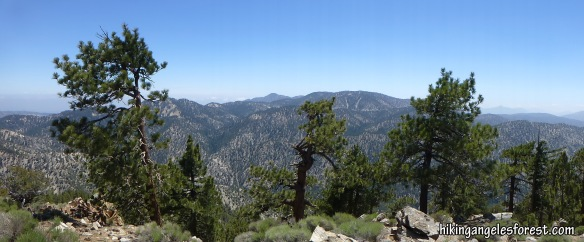View from Will Thrall Peak (click to enlarge)