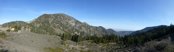 Pacific Crest Trail near Islip Saddle. (click to enlarge).