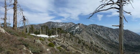 View from the Islip Ridge Trail.