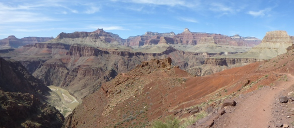 The Grandeur of the  South Kaibab Trail as seen just below the Tonto Platform.