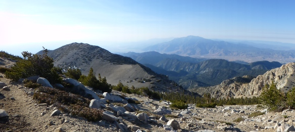 View toward Mt. San Jacinto from the Sky High Trail