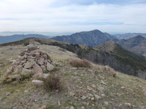 View toward Mt. Lukens from Brown Mountain.