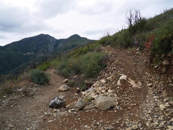 View of Junction looking back toward San Gabriel Peak.