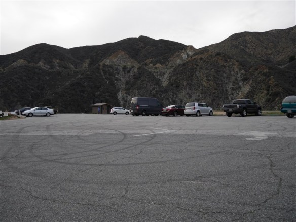 Parking area at East Fork.