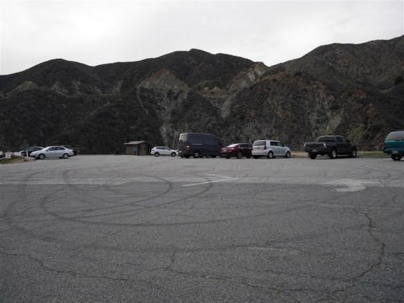 Parking area at East Fork.