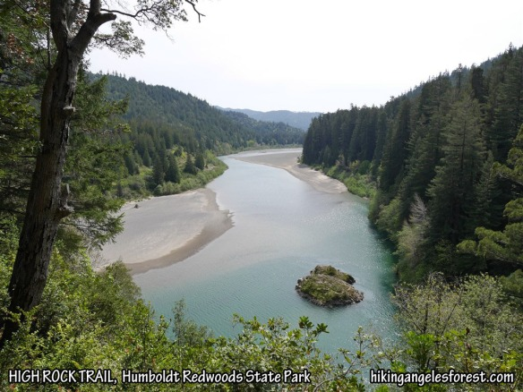 View of the Eel River from High Rock