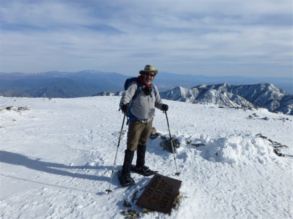 I haven't made it to the snow yet this year. Here's a shot of me on Mt. Baldy in December of 2012.
