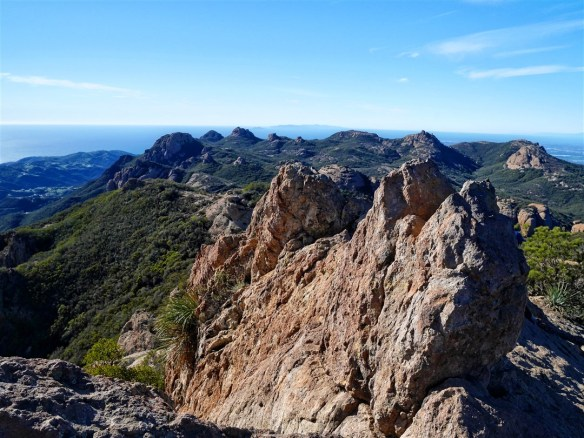 View from Sandstone Peak
