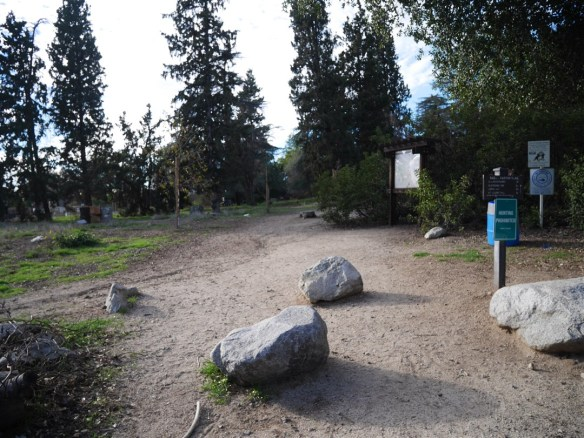 Bailey Canyon Wilderness Area trailhead.